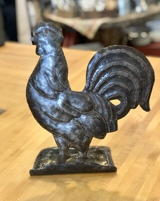 Metal Kitchen Rooster Decor
