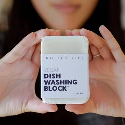 No Tox Life® Zero-Waste Dish Block® 5.9 oz.