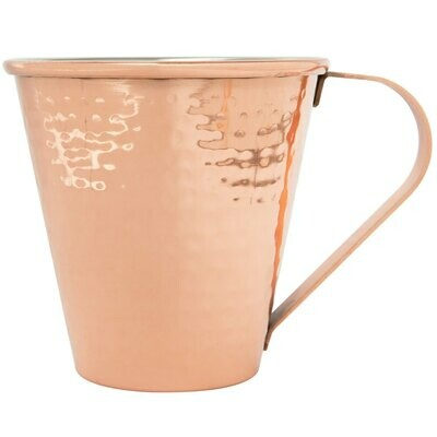 18 oz. Tapered Hammered Copper Moscow Mule