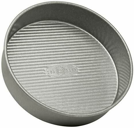 "USA Pan® Aluminized Steel 9"" Round Cake Pan"