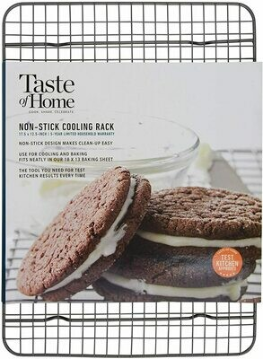 """Taste of Home™ 12"""" x 17"""" Non-Stick Cooling Rack"""