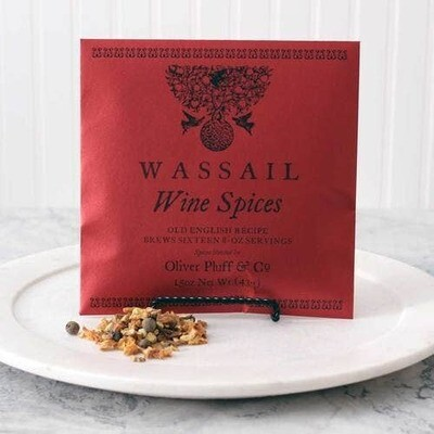 Oliver Pluff & Co. Wine Wassail Spices - 1 Gallon Package