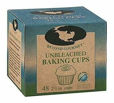 Unbleached Baking Cups - 2.5