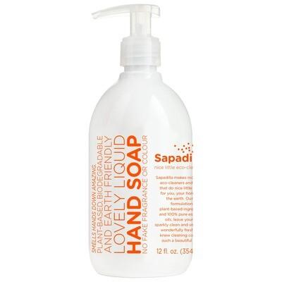 Sapadilla Eco Grapefruit + Bergamot Liquid Hand Soap 12 fl. oz.