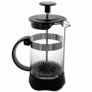 Black French Coffee & Tea Press - 12 oz.