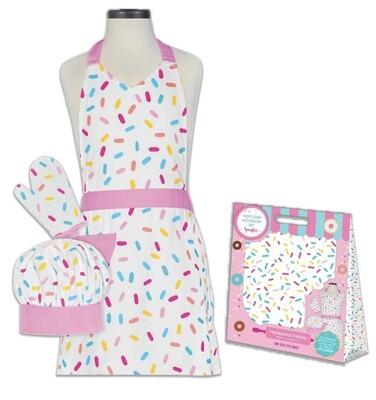 Handstand Kitchen™ Kid's Sprinkles Chef Apron Set