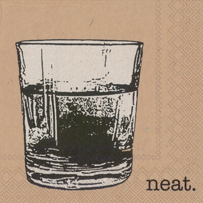 Neat Cocktail Napkins - 20 ct.