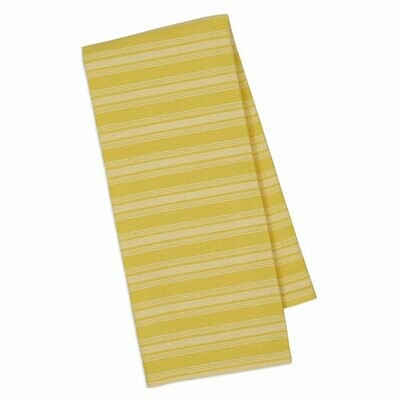 Yellow Savory Stripe Dishtowel