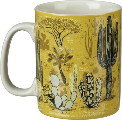 Desert Scene 20 oz. Ceramic Mug