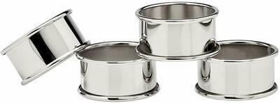 Godinger Silver Napkin Rings - Set Of 4