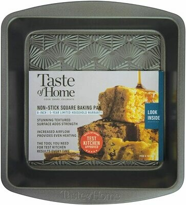"Taste of Home™ 8"" Square Non-Stick Baking Pan"