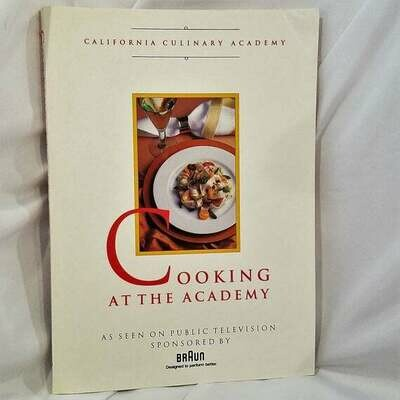 Cooking At The Academy Cookbook