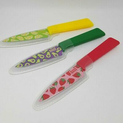 Kuhn Rikon Colori + Paring Knife Funky Fruit