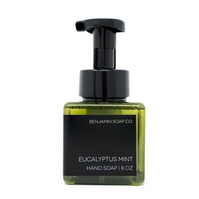 Benjamin Soap Co. 8 oz. Foaming Hand Soap - Eucalyptus Mint