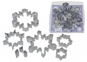 8-Piece Snowflake Cookie Cutter Set
