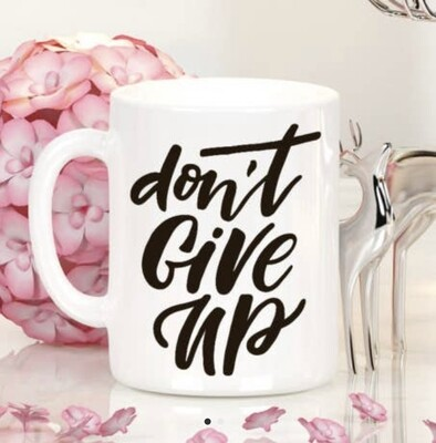 Quotable Life™ Don't Give Up 11 oz. Mug