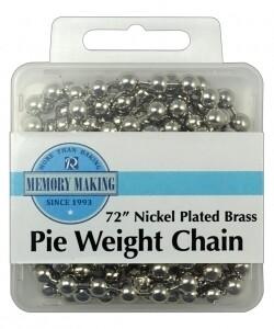 """72"""" Pie Weight Chain"""