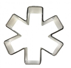 Asterisk / Medic Symbol Cookie Cutter 3