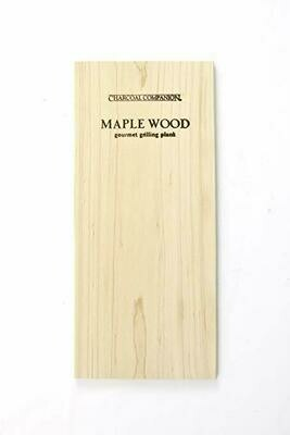 Charcoal Companion Wood Grilling Plank - Maple