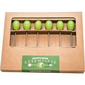 Cork Pops® Olive Cocktail Pick Set