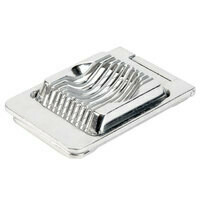 Aluminum Hinged Two-Way Egg Slicer with Stainless Steel Wires