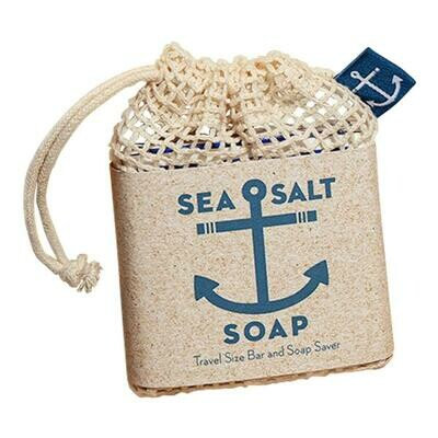 Sea Salt Travel Size Bar & Soap Saver