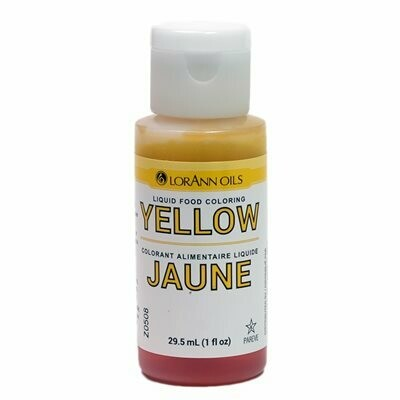 LorAnn Oils® Yellow Liquid Food Coloring