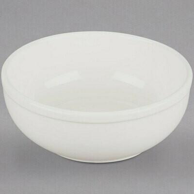 Ivory Rolled Edge China Bowl 15 oz.