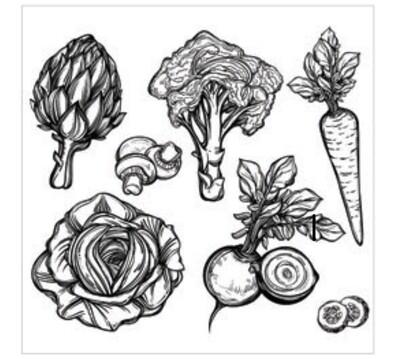 The EuroScrubby® Vegetables Multi-Purpose Dishcloth
