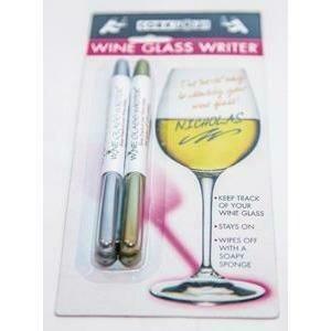 Cork Pops® Silver & Gold Wine Writers