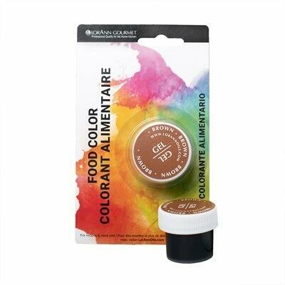 LorAnn Oils® Brown Gel Food Coloring