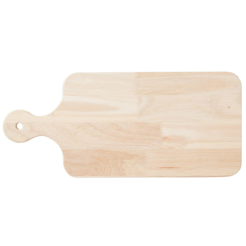"""18"""" x 8"""" x 3/4"""" Wood Cutting / Charcuterie Board with Handle"""