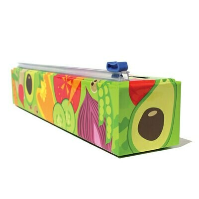 ChicWrap® Veggies Plastic Wrap & Dispenser