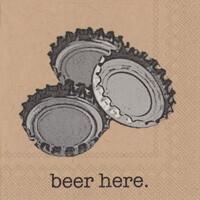Boston International® Beer Here Cocktail Napkins