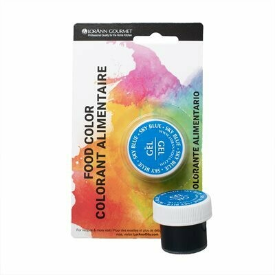 LorAnn Oils® Sky Blue Gel Food Coloring