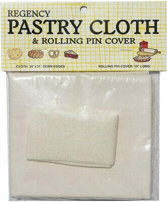 Regency Wraps™ Pastry Cloth & Rolling Pin Cover