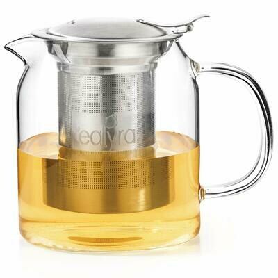 Tealyra® Pyxis™ 20 oz. Glass Kettle Teapot