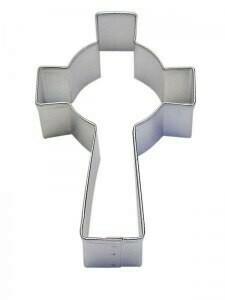 "Celtic Cross Cookie Cutter 3.5"""