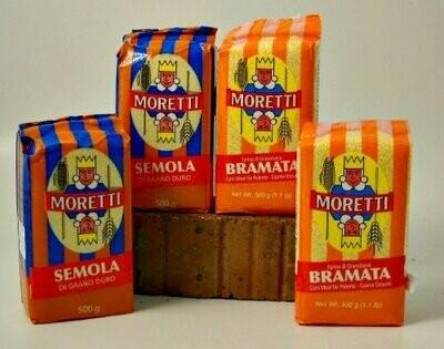 Moretti Semola - Durum Wheat Semolina 1.1 lb.
