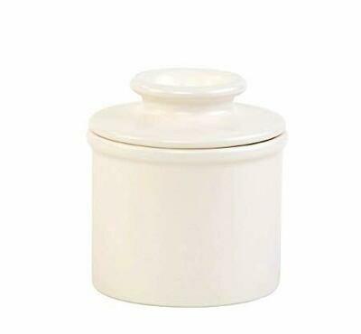 The Original Butter Bell® Crock Matte Ivory Butter Keeper