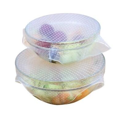 Zefiro® Reusable Silicone Bowl Wrap Set