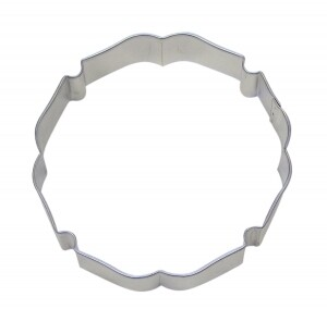 Badge / Plaque Cookie Cutter 4.25