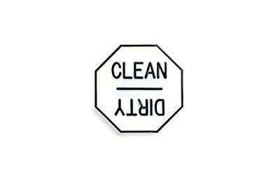 Fox Run® Clean & Dirty Dishwasher Magnet