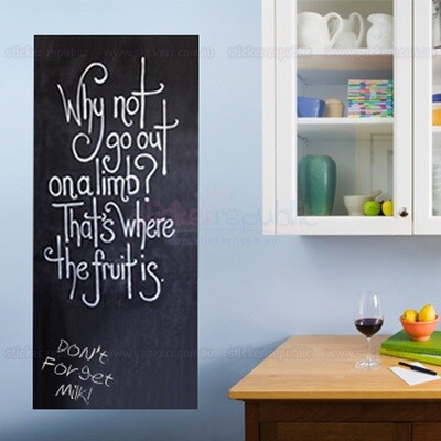 Wall Decal Chalkboard Set