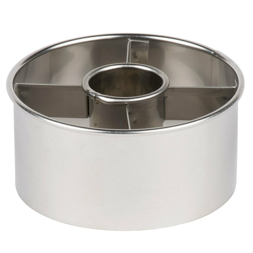 """Ateco® 3.5"""" Stainless Steel Doughnut Cutter"""