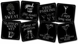 This Drink's On Me Coasters - Set Of 8