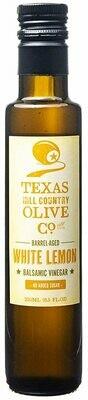 TX Hill Country Olive Oil Co.®  Barrel-Aged White Lemon Balsamic Vinegar