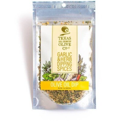 TX Hill Country Olive Oil Co.® Garlic & Herb Dipping Spices