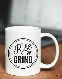 Type League Press® Rise & Grind Mug 15 oz.