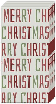 Boston International® Winter Merry Christmas Pocket Tissues
